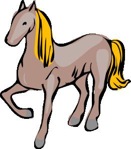 261x297 Cartoon Horse Clip Art
