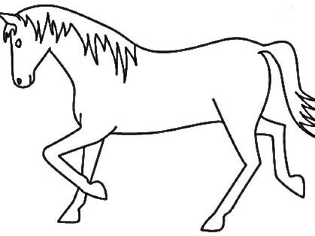 640x480 Horse Drawing For Kids Horse Drawing For Kids Step 10 How To Draw