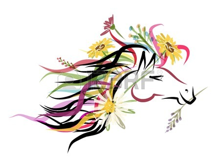 450x327 13,855 Horse Head Stock Vector Illustration And Royalty Free Horse