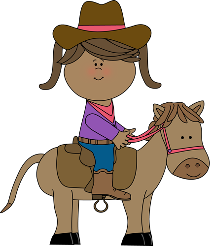 426x500 Free Horse Riding Clipart Image