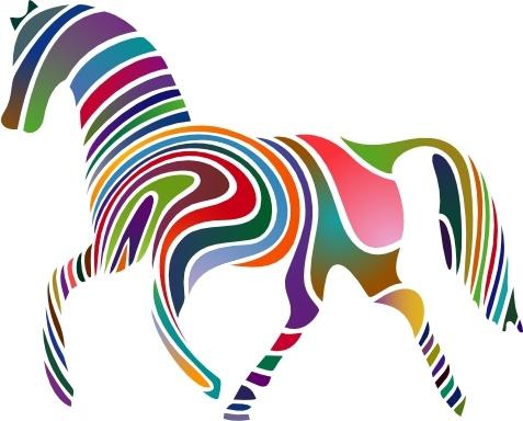 477x384 Horse Clip Art Free