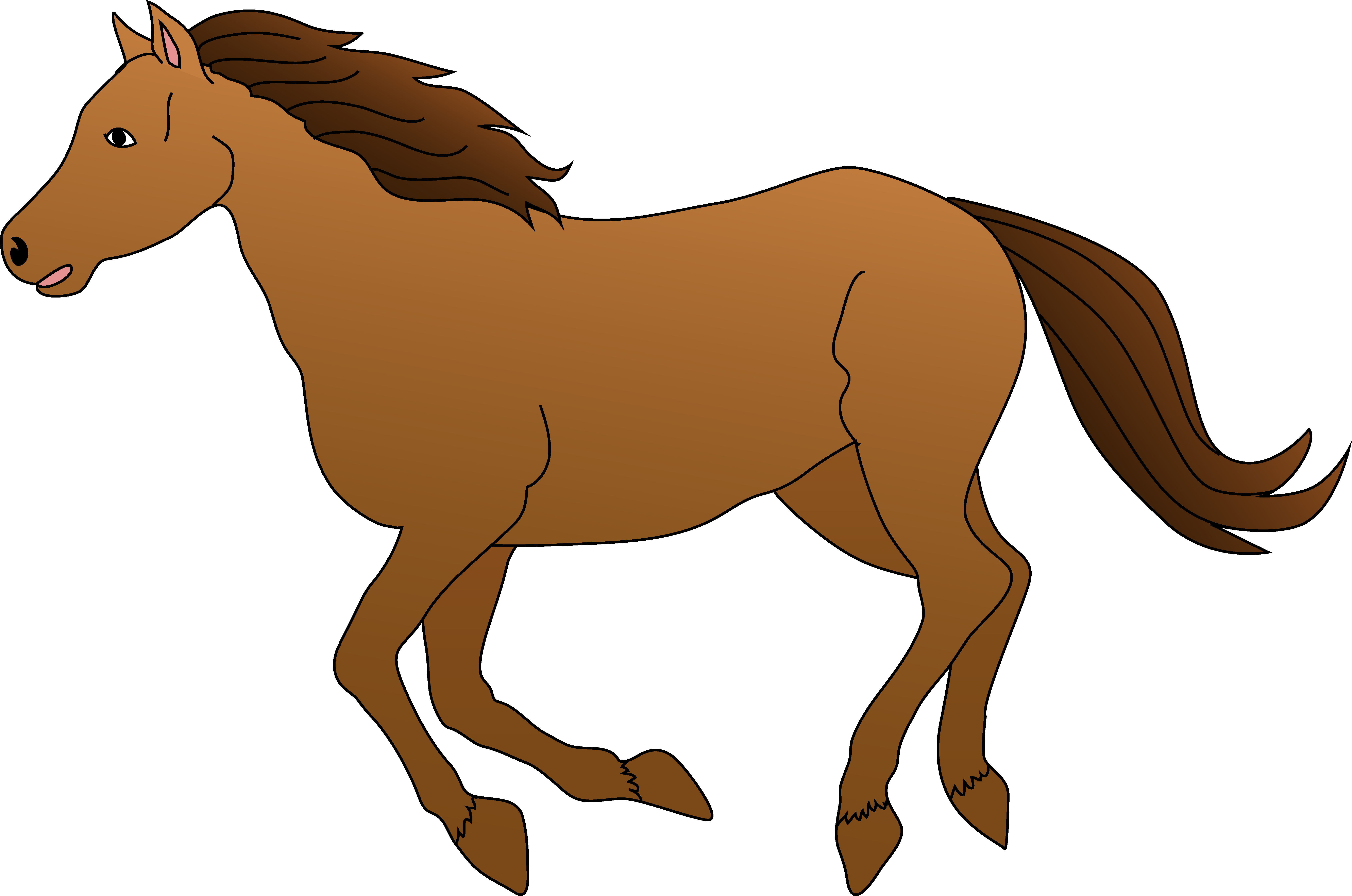 6680x4427 Horse Clipart Free Download Clip Art