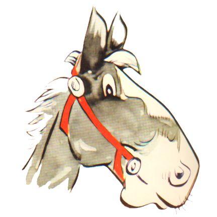 Horse Head Cartoons