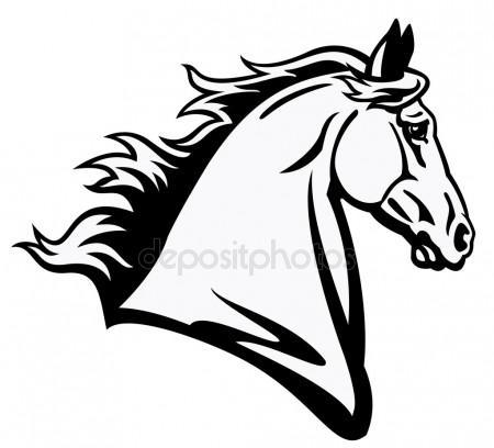 450x408 Horse Head Stock Vectors, Royalty Free Horse Head Illustrations