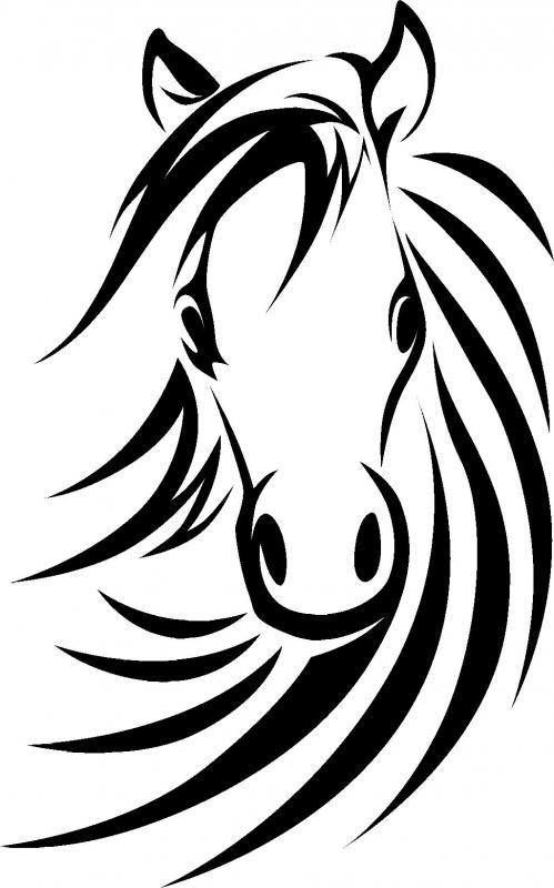 499x800 Horse Head Wall Decor Paper Horse Head, Wall Decor