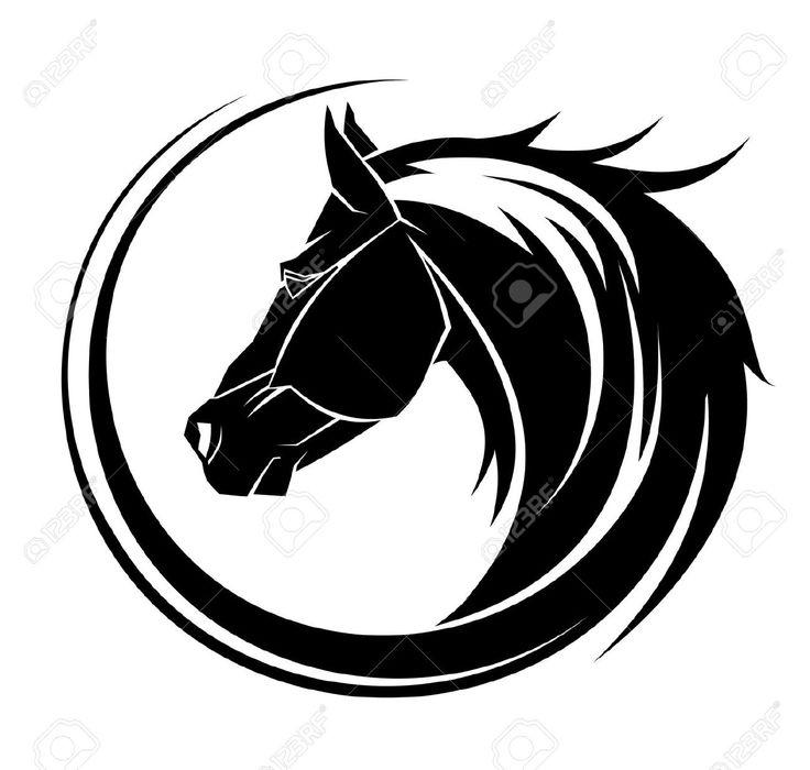 736x700 The Best Tribal Horse Tattoo Ideas Horse Tattoo