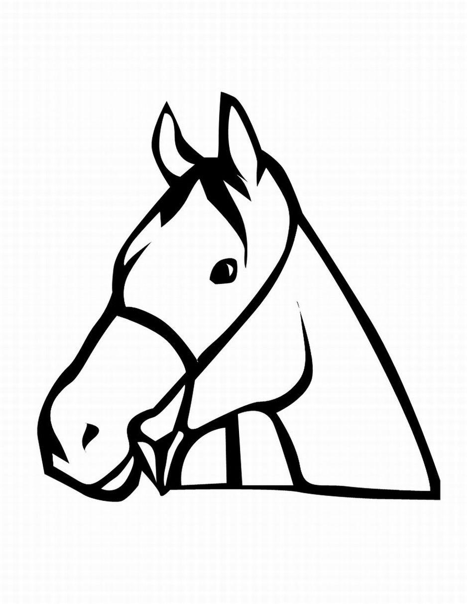 938x1213 Best Horse Head Clipart