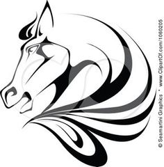 236x240 Royalty Free Black Rearing Horse Logo Horse Logo Horse