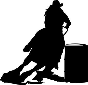 359x348 Horse Racing clipart racer