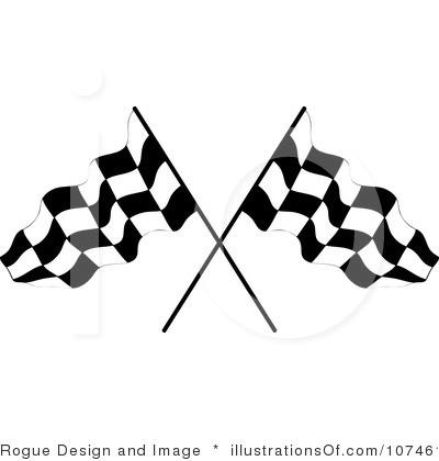 400x420 Race Flag Clip Art