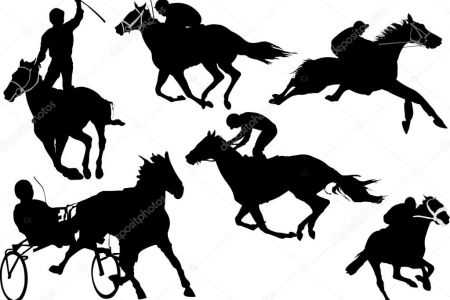 450x300 Carriage Horse Racing Clipart Free Clip Art Images, Colonial Horse