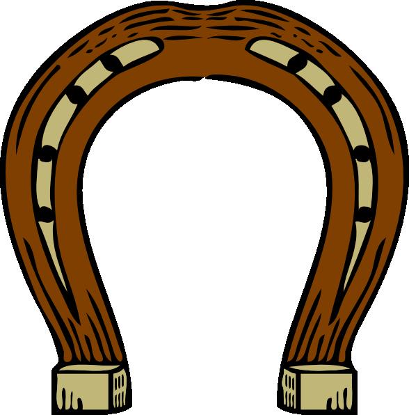 588x596 Horseshoe Clip Art