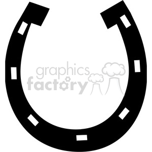 300x300 Royalty Free Horseshoe 385503 Vector Clip Art Image