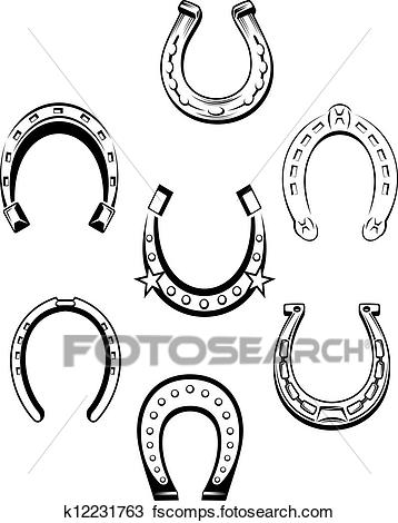358x470 Horseshoes Clip Art Illustrations. 7,678 Horseshoes Clipart Eps