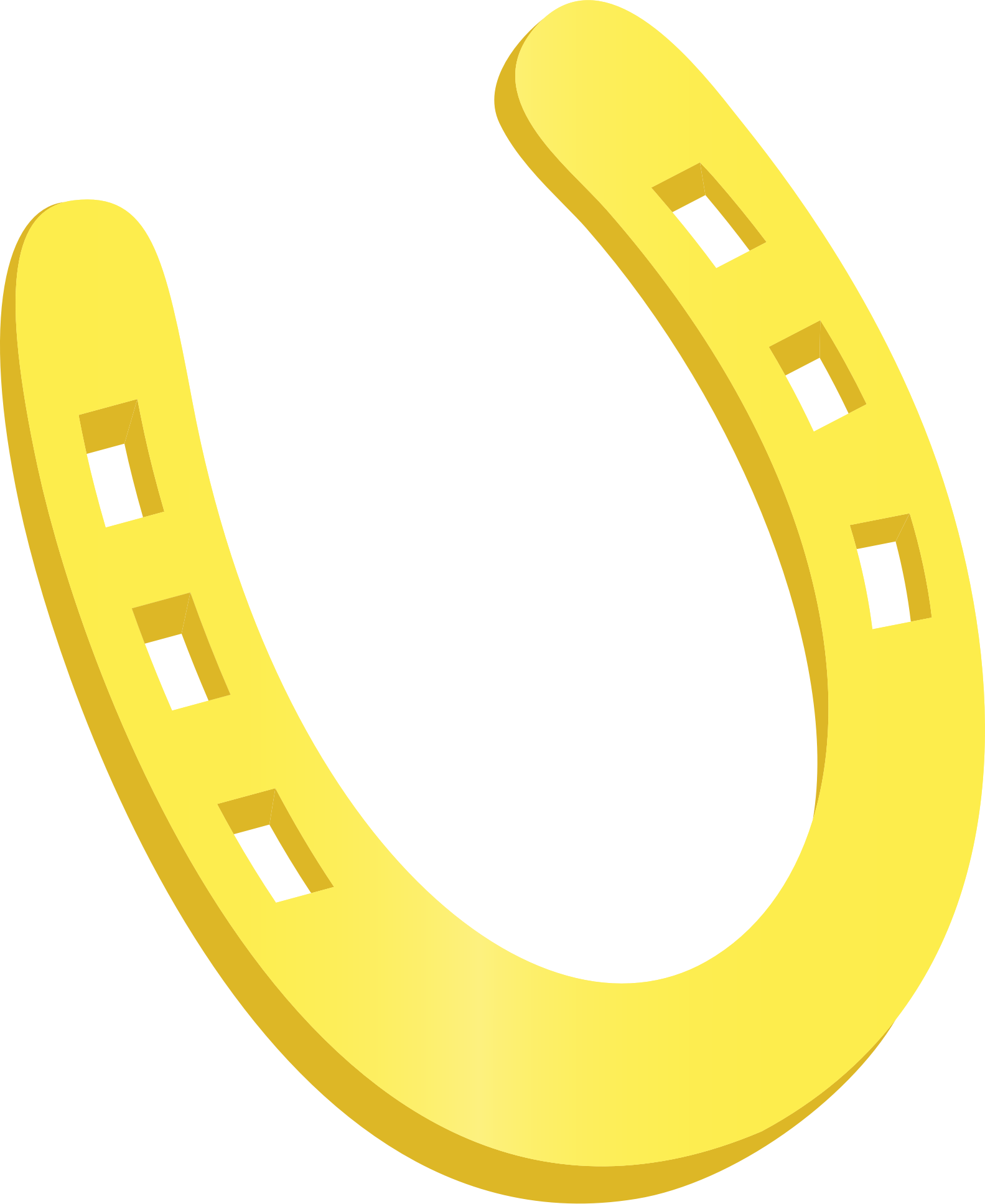 1583x1934 Horse Shoe Horseshoe Clipart