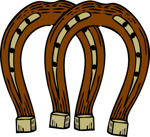 600x549 Horseshoe Clip Art
