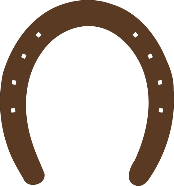 561x600 Horseshoe Graphic Free Vector Download (18 Free Vector)