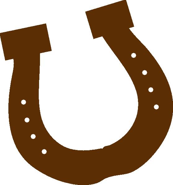 558x597 Horseshoe Horse Shoe Clip Art Image