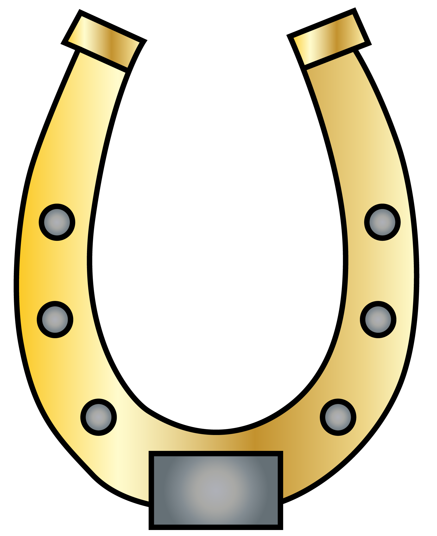 1678x2059 Free Horseshoe Clipart The Cliparts