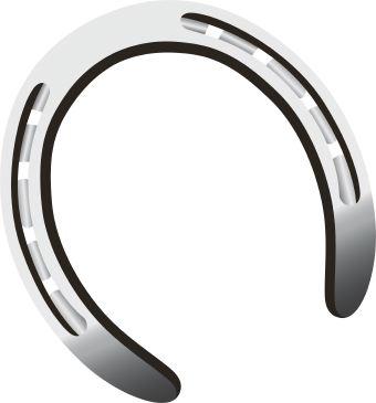 340x365 Horseshoe Horse Shoe Clip Art