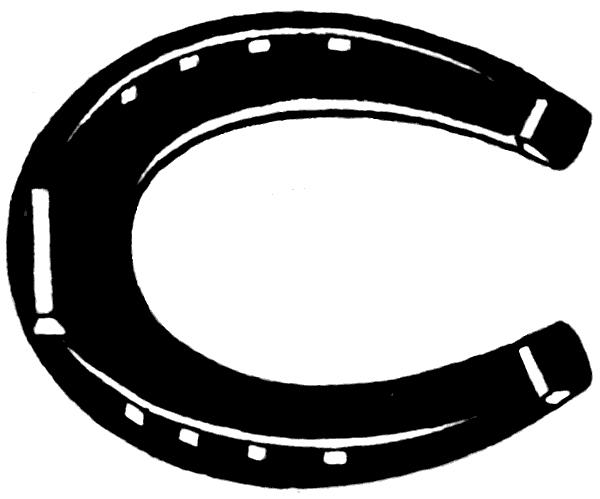 600x499 Best Horseshoe Clip Art