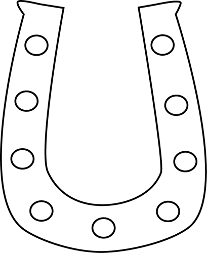 409x500 Horseshoe Horse Shoe Clip Art Wikiclipart 3