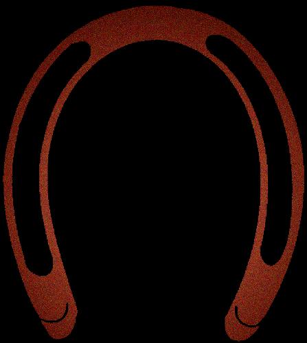 447x500 Free Horseshoe Clip Art Clipartix