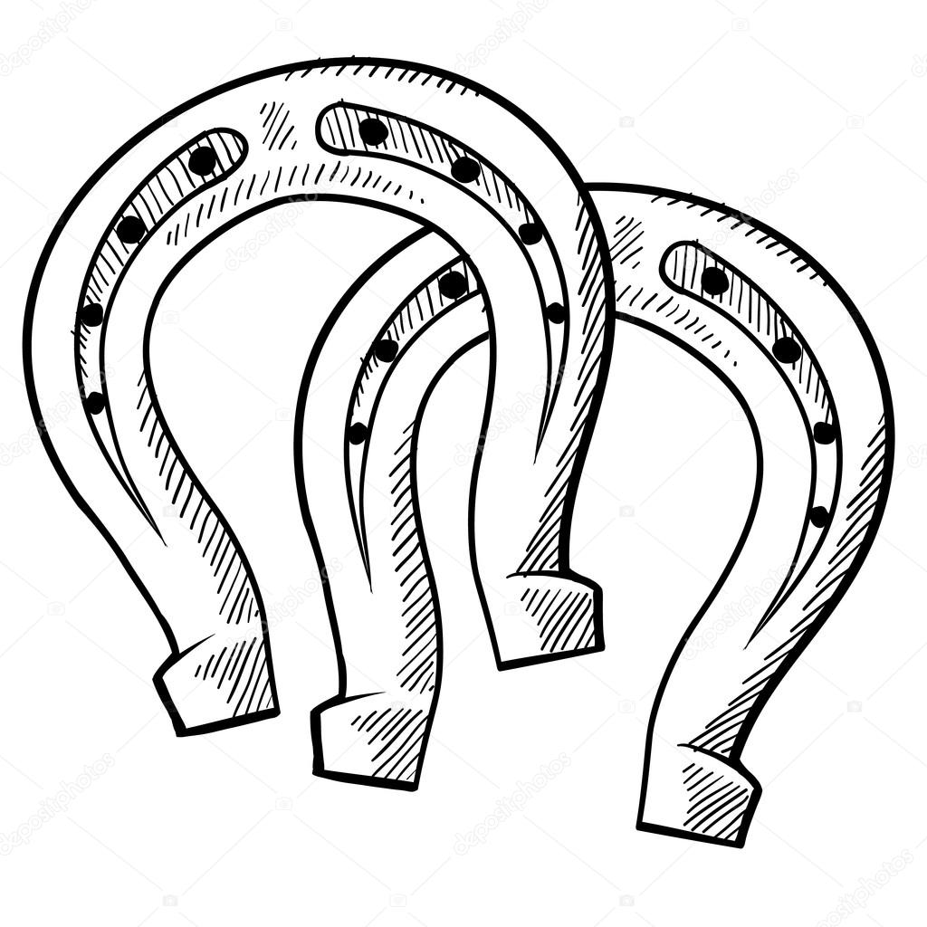 1024x1024 Horseshoe Stock Vectors, Royalty Free Horseshoe Illustrations