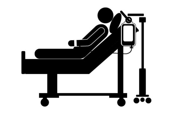600x372 Hospital Bed Clipart