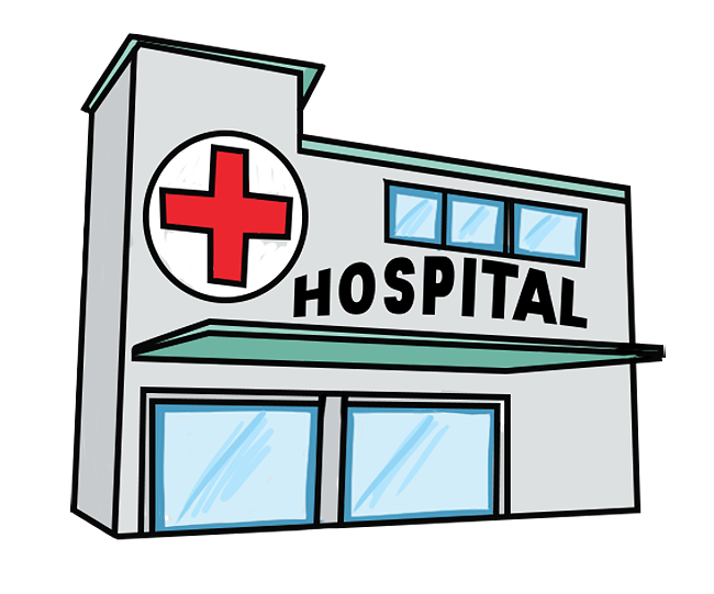650x541 Hospital Bed Clipart