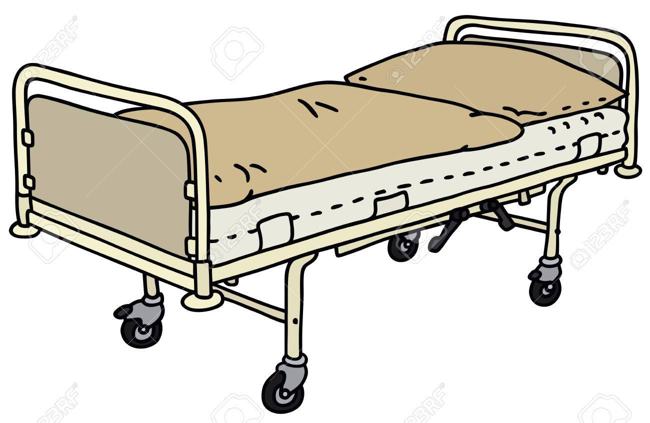 1300x846 Hospital Bed Drawing. Hospital Patient Clip Art Bed Fotosearch