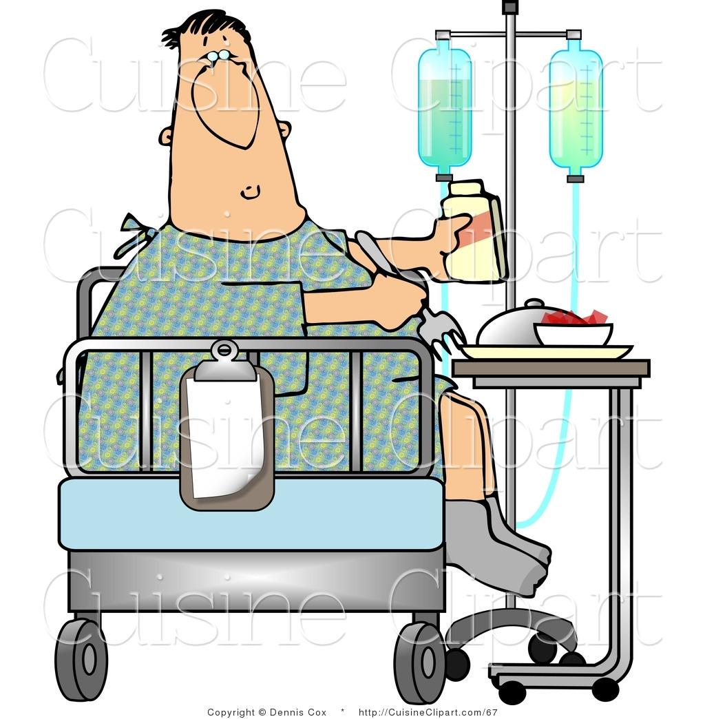 1024x1044 Man Clipart Hospital Bed