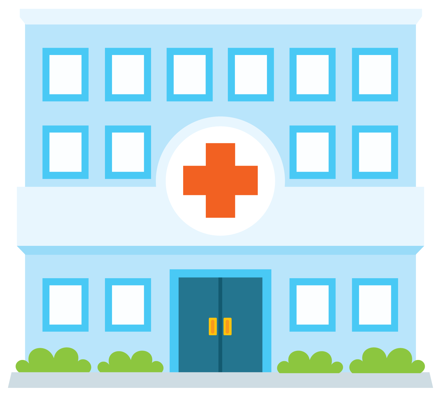 1500x1350 Hospital Free To Use Clip Art 2
