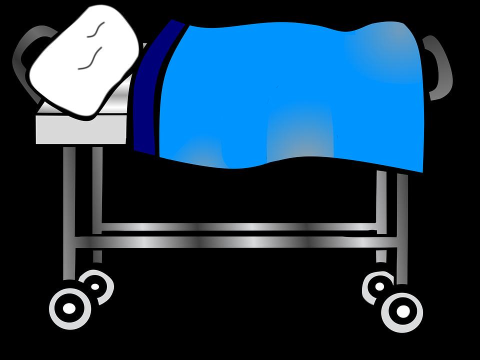 960x720 Free Illustration Hospital Clip Art Bedside Image