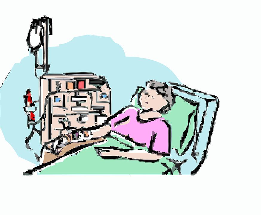 874x720 Hospital Clipart Illness