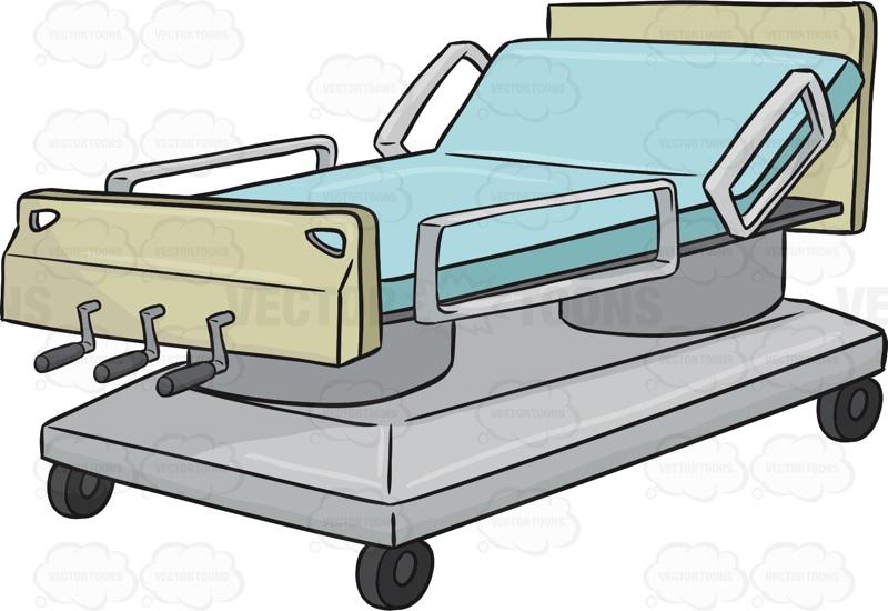 800x550 Bed Clipart Patient Bed