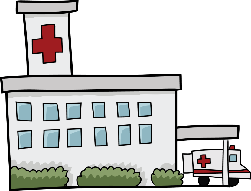 830x634 Best Hospital Clipart