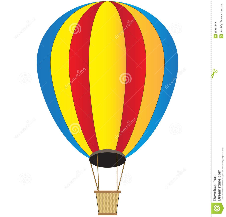 1351x1300 Drawn Basket Hot Air Balloon