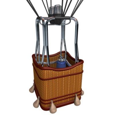 400x400 Hot Air Balloon Basket C4d Clipart Panda