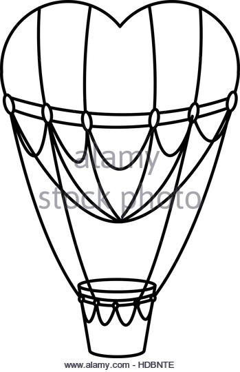 349x540 Hot Air Balloon Black And White Stock Photos Amp Images