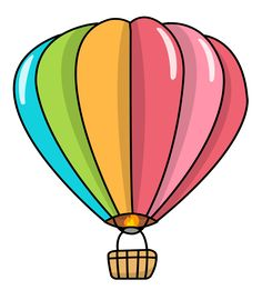 236x270 Hot Air Balloon Coloring Pages
