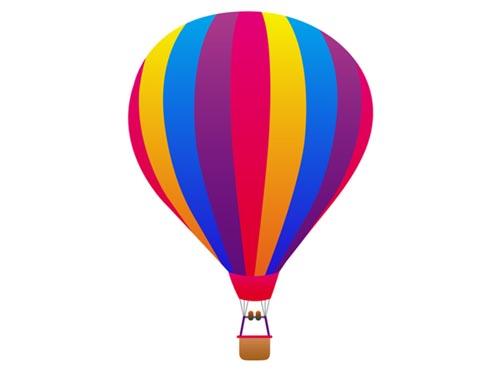 500x373 Best Hot Air Balloon Clip Art
