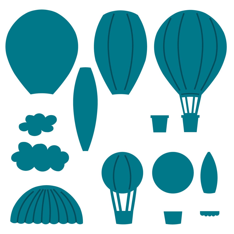 1500x1500 Blur Clipart Hot Air Balloon