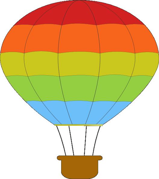 528x595 Hot Air Balloon Clip Art