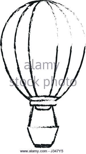 302x540 Hot Air Balloon Drawing Stock Photos Amp Hot Air Balloon Drawing