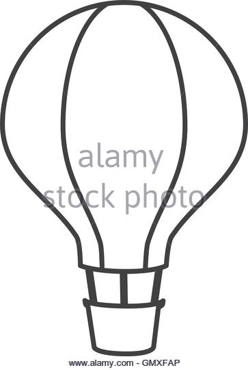 363x540 Hot Air Balloon Cartoon Black And White Stock Photos Amp Images