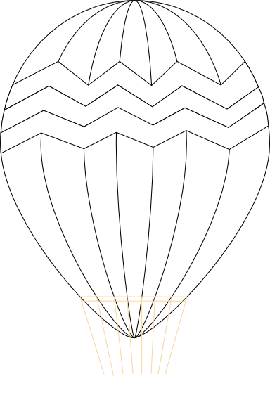 384x596 Hot Air Balloon Clip Art