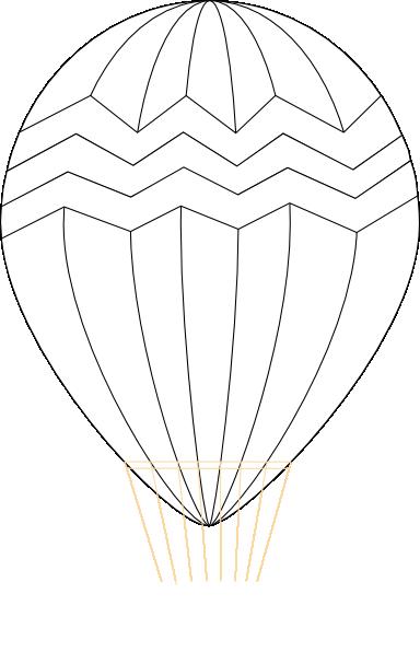 384x596 Hot Air Balloon Clip Art