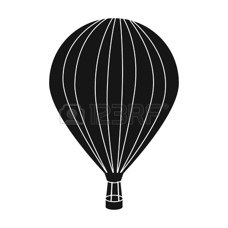 450x450 Air Balloon For Walking. Transport Works On Warm Air. Transport