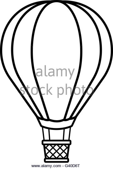 362x540 Hot Air Balloons Black And White Stock Photos Amp Images